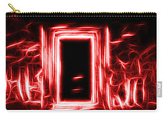 Ethereal Doorways Red Carry-all Pouch