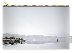 Ethereal Mono Lake Carry-all Pouch by Shaun Higson