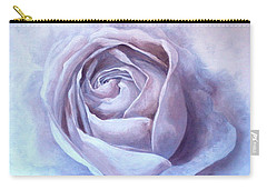 Ethereal Rose Carry-all Pouch by Sandra Phryce-Jones