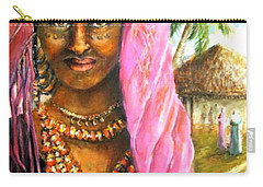 Ethiopia Bride Carry-all Pouch by Bernadette Krupa