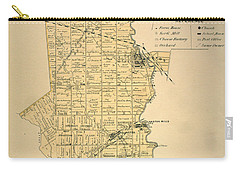Etobicoke Map 1878 Carry-all Pouch