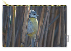 Eurasian Blue Tit - Parus Caeruleus Carry-all Pouch