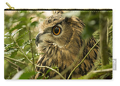 Eurasian Eagle-owl 2 Carry-all Pouch
