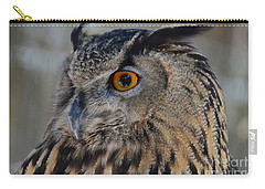 Eurasian Owl Carry-all Pouch by Debby Pueschel