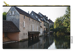 Eure River And Old Fulling Mills In Chartres Carry-all Pouch by RicardMN Photography