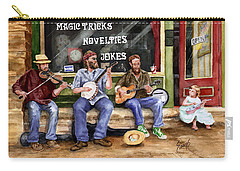 Eureka Springs Novelty Shop String Quartet Carry-all Pouch by Sam Sidders