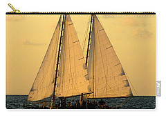 More Sails In Key West Carry-all Pouch by Bob Slitzan