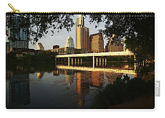 Evening Along The River Carry-all Pouch by Dave Files