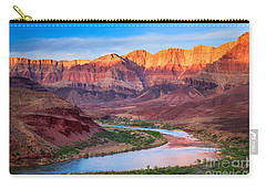 Evening At Cardenas Carry-all Pouch by Inge Johnsson