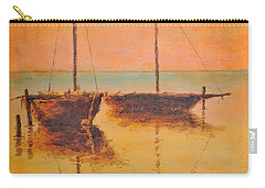 Evening Boats Carry-all Pouch