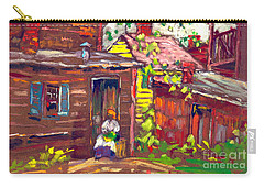 Evening Chore 1910 Carry-all Pouch by Padre Art