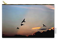 Evening Dance In The Sky Carry-all Pouch by Bruce Patrick Smith