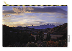Evening In Gros Ventre Carry-all Pouch