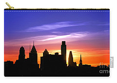 Evening In Philly Carry-all Pouch