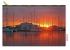 Carry-all Pouch featuring the photograph Evening Light by HH Photography of Florida