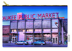 Evening Milwaukee Public Market Carry-all Pouch