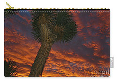 Evening Red Event Carry-all Pouch by Angela J Wright