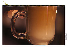 Carry-all Pouch featuring the photograph Evening Refreshments by Miguel Winterpacht