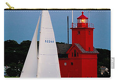 Evening Sail At Holland Light Carry-all Pouch