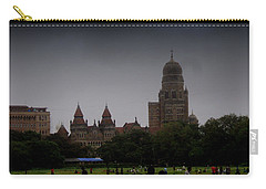 Carry-all Pouch featuring the photograph Evening by Salman Ravish