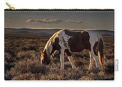 Evening Solitude In Sand Wash Basin Carry-all Pouch by Nadja Rider