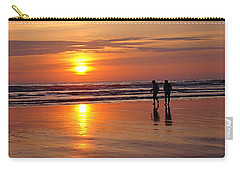 Carry-all Pouch featuring the photograph Evening Stroll by Nick Kloepping