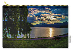 Evening Sun Kisses Lake One Last Time Carry-all Pouch