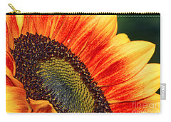 Evening Sun Sunflower Carry-all Pouch