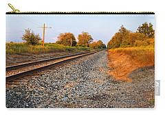 Evening Tracks Carry-all Pouch by Lars Lentz
