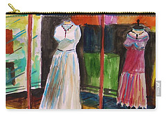 Carry-all Pouch featuring the painting Evening Wear by John Williams