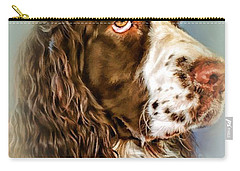 Ever Watchful English Springer Spaniel Carry-all Pouch