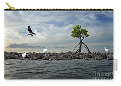Carry-all Pouch featuring the photograph Everglade Scene by Dan Friend