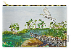 Everglades Critters Carry-all Pouch