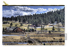 Evergreen Colorado Lakehouse Carry-all Pouch