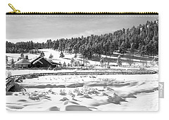 Evergreen Lake House In Winter Carry-all Pouch