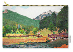 Evergreen Lake Spring Carry-all Pouch