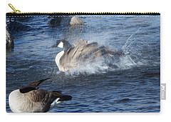 Everyone Duck Carry-all Pouch by Bobbee Rickard