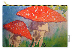 Carry-all Pouch featuring the painting Everything Gets Brighter by Beverley Harper Tinsley