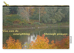 Everything With Prayer Carry-all Pouch