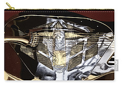 Evil Guitar In Color Tones Carry-all Pouch