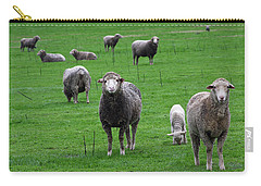 Ewes And Lambs Carry-all Pouch