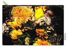 Carry-all Pouch featuring the digital art Ex Obscura by Richard Thomas