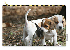 Exploring Beagle Pups Carry-all Pouch