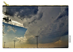 Explosive Texas Supercell Carry-all Pouch by Ed Sweeney