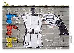 Expresso Love Carry-all Pouch by Ethna Gillespie