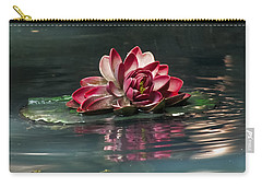 Carry-all Pouch featuring the photograph Exquisite Water Flower  by Lucinda Walter