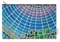 Carry-all Pouch featuring the digital art Eye Of God by Anthony Mwangi