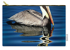 Eye Of Reflection Carry-all Pouch by Karen Wiles