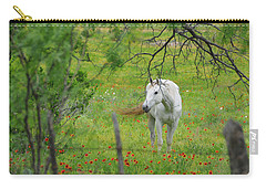 Eye On Beauty Carry-all Pouch by Lynn Bauer