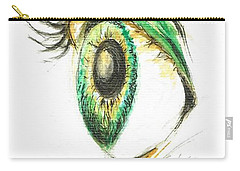 Eye Opener Carry-all Pouch by Teresa White